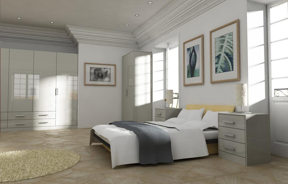 Gravity Ivory Bedroom