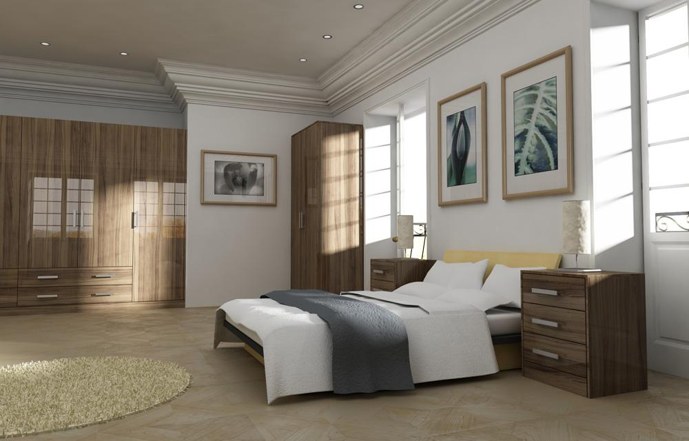 Zurfiz Noce Marino Bedroom