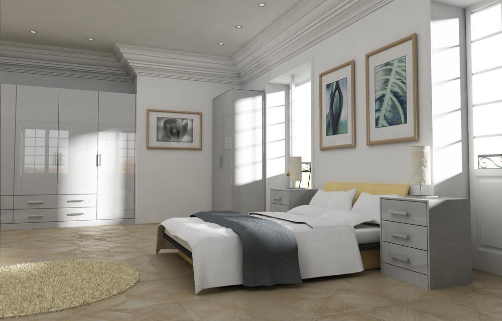 Zurfiz White Bedroom