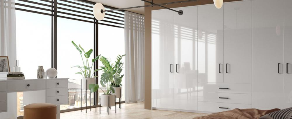 Slab Style Bedroom Doors