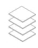 500 Shelf Pack - ClicBox