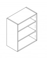 600 Wall Unit 720 High - ClicBox