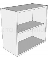 Open Kitchen Wall Unit - Low (575mm high)
