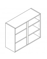 900 Wall Unit 720 High - ClicBox
