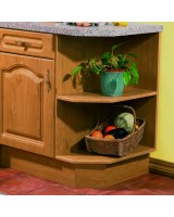 Bella Base End Shelf Unit Left Hand
