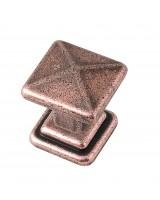 Cross Knob - Copper