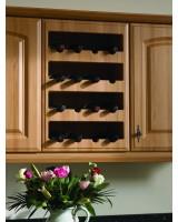 Bella Plain Wine Rack Front 4 Bottles