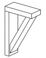Fitzroy shelf bracket