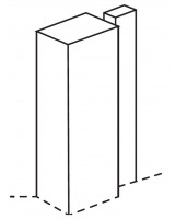 Hunton Tall Square Feature Post