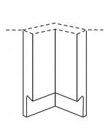 Remo internal wall corner post