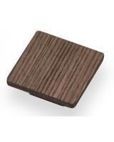 Square Knob - Wood