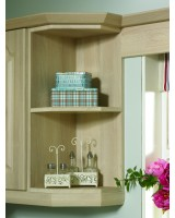 Bella Wall End Shelf Unit 900mm