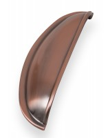 Windsor Shell Handle - Brushed Copper