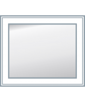 Unique Rectangular Profiled Edge Mirror