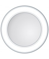 Unique Round Profiled Edge Mirror