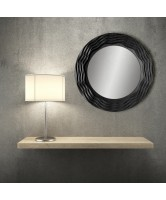 Unique Round Feature Mirror