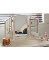 Unique Free Standing Swivel Mirror with Wings