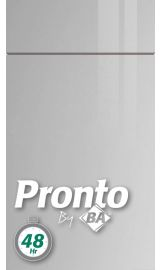 pronto Firbeck Supergloss Light Grey Door kitchen door