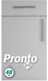 pronto Firbeck supermatt Light Grey Door kitchen door
