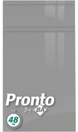 pronto Jayline Supergloss Dust Grey Door kitchen door
