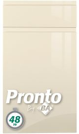 pronto lacarre gloss cream pronto kitchen door