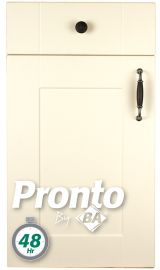 pronto ludlow cream door pronto kitchen door