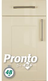 pronto ludlow gloss cream pronto door kitchen door