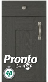 pronto wilton oakgrain graphite pronto door kitchen door