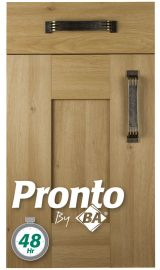 pronto wilton odesa oak pronto door kitchen door