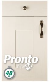 pronto wilton woodgrain white paintable door kitchen door