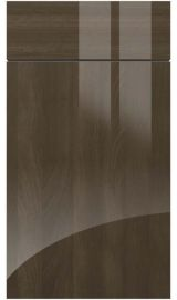 zurfiz ultragloss japanese pear kitchen door