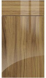 zurfiz ultragloss noce marino kitchen door