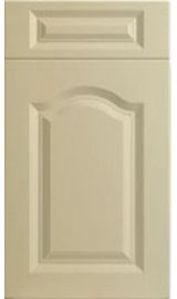 bella canterbury high gloss cream kitchen door