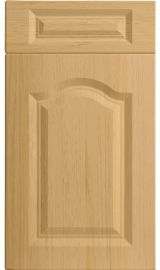 bella canterbury lissa oak kitchen door