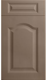 bella canterbury matt stone grey kitchen door