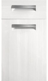 bella lazio open grain white kitchen door