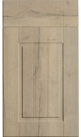 bella newport halifax natural oak kitchen door