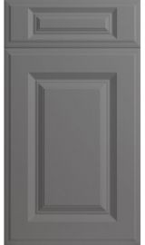 bella palermo high gloss dust grey kitchen door