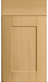 bella shaker lissa oak kitchen door