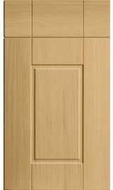 bella surrey lissa oak kitchen door