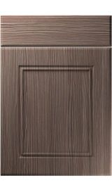 unique ascot brown grey avola kitchen door