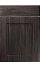 unique ascot hacienda black kitchen door