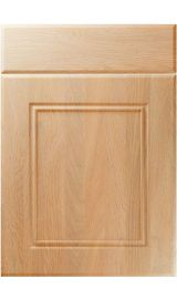 unique ascot montana oak kitchen door