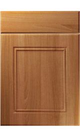 unique ascot natural aida walnut kitchen door