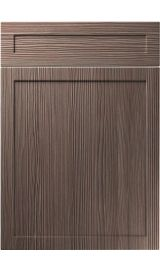 unique balmoral brown grey avola kitchen door