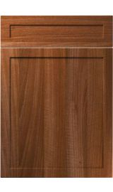 unique balmoral opera walnut kitchen door