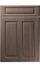 unique benwick brown grey avola kitchen door