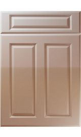 unique benwick high gloss cappuccino kitchen door