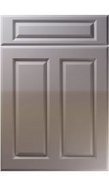 unique benwick high gloss dust grey kitchen door