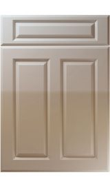 unique benwick high gloss stone grey kitchen door